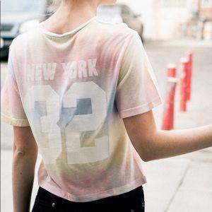 Brandy tie dye New York top